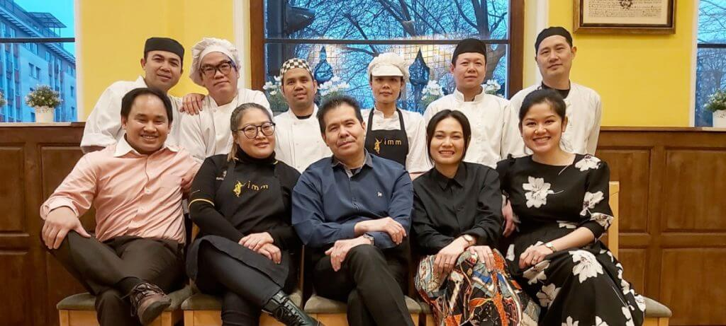 imm Thai Fusion team